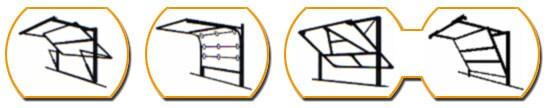 chamberlain torantrieb mit extraschiene f r 3m torh he ebay. Black Bedroom Furniture Sets. Home Design Ideas