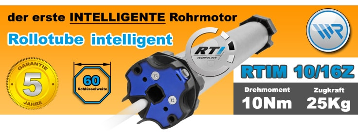 Rademacher Rollotube intelligent RTiS