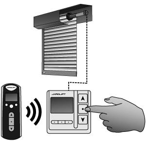 Rückseite - JAROLIFT®™ 1-Kanal Funkempfänger Timer für Rohrmotoren