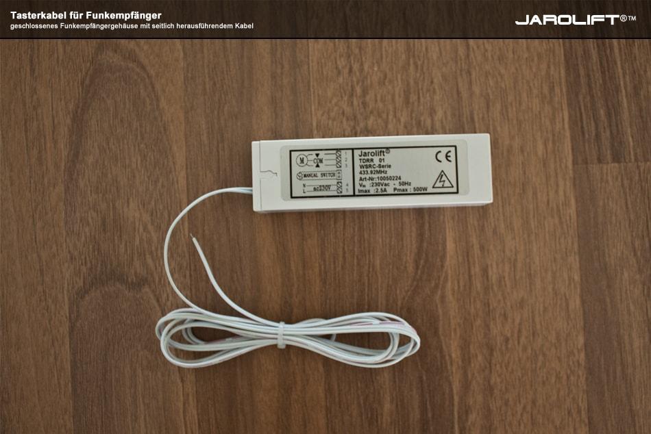 tasterkabel 2 m kabell nge f r jarolift funkempf nger. Black Bedroom Furniture Sets. Home Design Ideas
