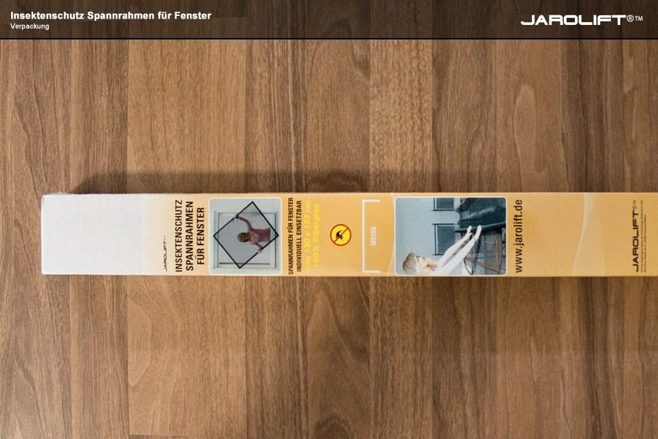 jarolift insektenschutz spannrahmen f fenster 130x150cm ebay. Black Bedroom Furniture Sets. Home Design Ideas