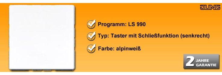 Taster Jung LS 990 Schließfunktion (LS 990 WW & 531U)