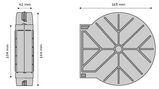 mauerkasten f r rolladengurt unterputz gurtwickler profiware gurtkasten rolladen ebay. Black Bedroom Furniture Sets. Home Design Ideas