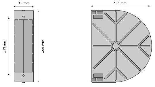 mauerkasten f r rolladengurt unterputz gurtwickler. Black Bedroom Furniture Sets. Home Design Ideas