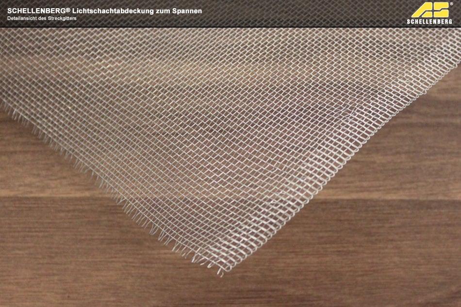 schellenberg lichtschachtabdeckung zum spannen aluminium lichtschachtabdeckung ebay. Black Bedroom Furniture Sets. Home Design Ideas
