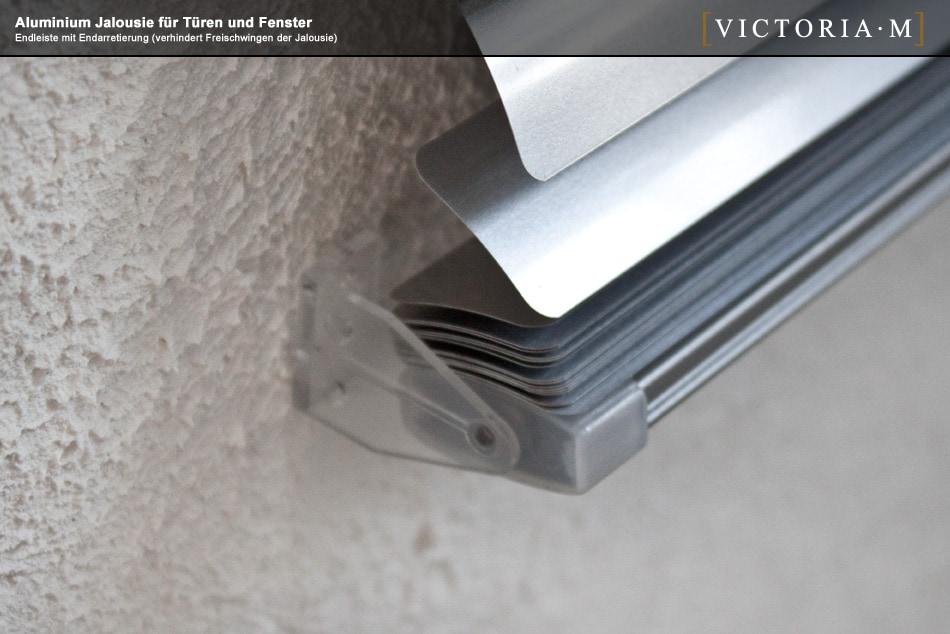 jalousie aluminium 110 x 220cm weiss 25mm jalousien victoria m. Black Bedroom Furniture Sets. Home Design Ideas
