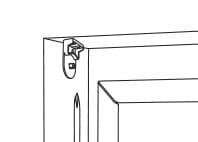 Decken- / Laibungsmontage