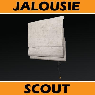 raffrollo innen rollo fenster stoffrollo baumwoll rollo f. Black Bedroom Furniture Sets. Home Design Ideas