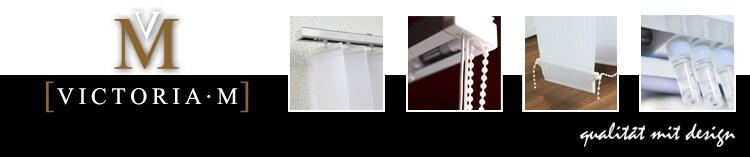VICTORIA M - Lamellenvorhang für Fenster und Türen