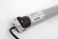 JAROLIFT Elektronischer Funk-Rollladenmotor Typ TDEF - Ansicht des Motorkopfs