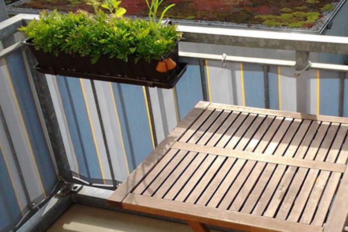 sichtschutz balkonbespannung balkon balkonverkleidung. Black Bedroom Furniture Sets. Home Design Ideas