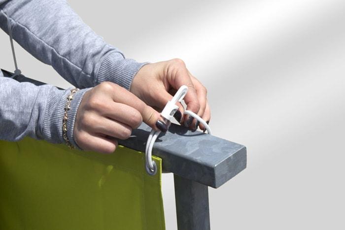 jarolift balkonbespannungen basic sichtschutz atmungsaktiv hdpe. Black Bedroom Furniture Sets. Home Design Ideas