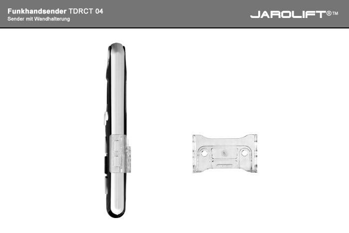 JAROLIFT Funkhandsender - Rückansicht Ansicht