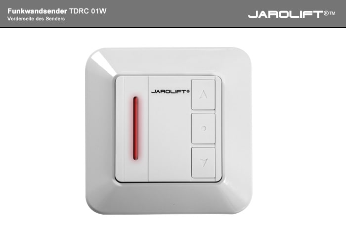 JAROLIFT Funkwandsender - Frontansicht