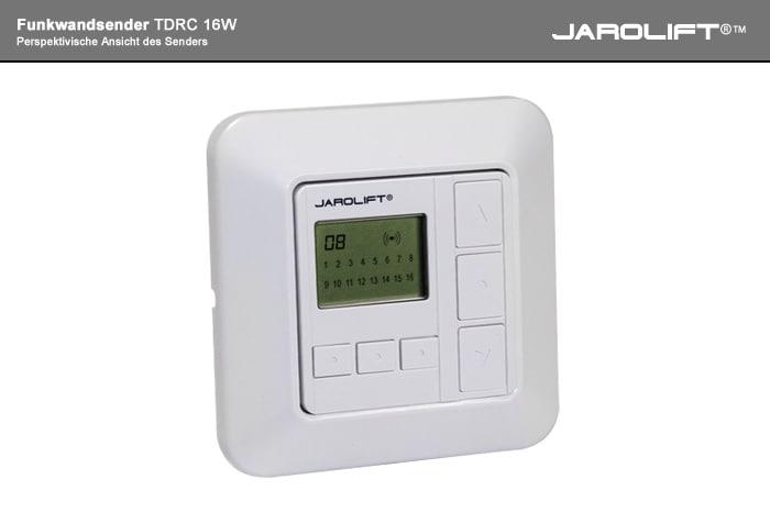 JAROLIFT Funkwandsender - Perspektivische Ansicht