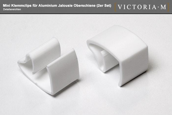 2x klemmfix klemmhalter jalousien klemmtr ger ohne bohren jalousietr ger set ebay. Black Bedroom Furniture Sets. Home Design Ideas