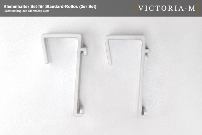 2er set victoria m rollo klemmclips seitenzugrollo. Black Bedroom Furniture Sets. Home Design Ideas