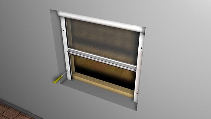 Insektenschutzrollo auf mass f fenster t ren und dachfenster for Fenster auf mass