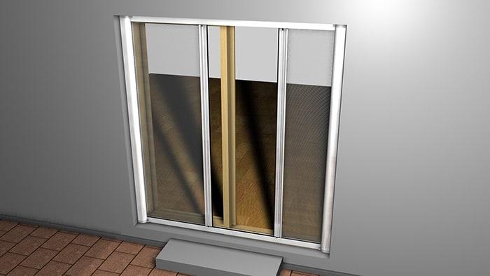 insektenschutzrollo auf mass f fenster t ren und dachfenster. Black Bedroom Furniture Sets. Home Design Ideas