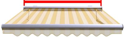 Fertigbreite SENATOR+ Vollkassettenmarkise