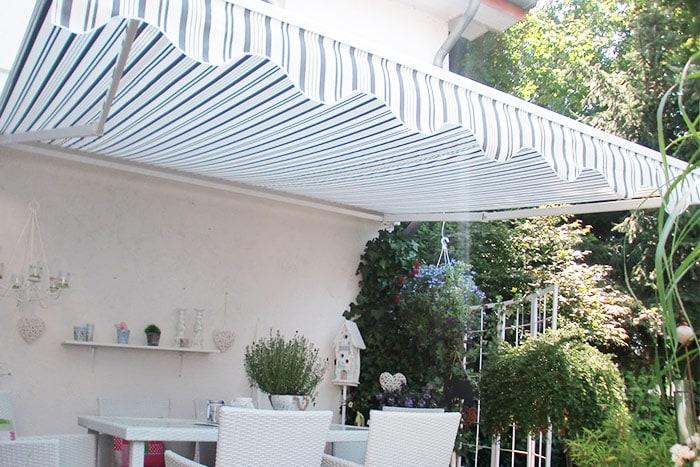 aluminium markise balkon terrasse garten stabile standard markise sonnenschutz ebay. Black Bedroom Furniture Sets. Home Design Ideas