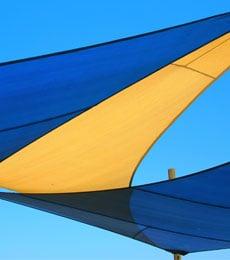 Sonnensegel / Sonnenschutzsegel der perfekte Schattenspender