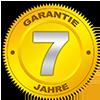 7 Jahre Garantie